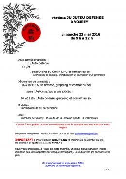2016 mai 22  stage JU JUTSU DEFENSE - VOUREY - pdf - copie 2