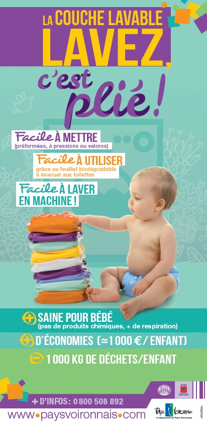 Ateliers parents : couches lavables, cap ou pas cap ?