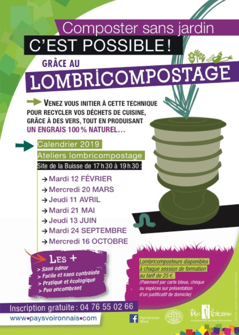 Ateliers lombricompostage 2019